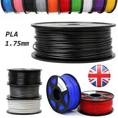 3D Printer Filament PLA 1.75mm 1kg more For RepRap MakerBot Print Various Colors