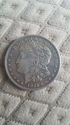 United States 1921 One Dollar Coin