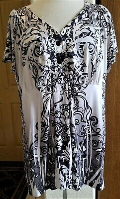 ONE WORLD UNITY Pink Short Sleeve Top Plus Size 1X - $16.00 ...