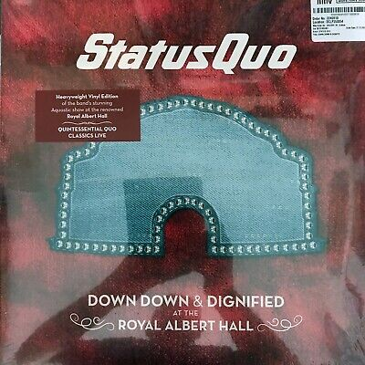 Status Quo - Down Down & Dignified At The Royal Albert Hall - Mint Double Vinyl