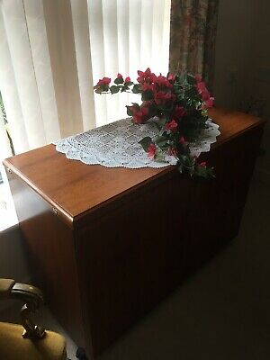 Antique Sewing Machine Table. Mahogany . Excellent Condition. Lovely Furniture.