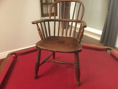 Antique 19th Century Childs Windsor Chair