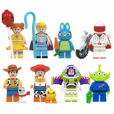 Disner Pixar Toy Story 4 Buzz Lightyear Woody Mini figure Compatible With