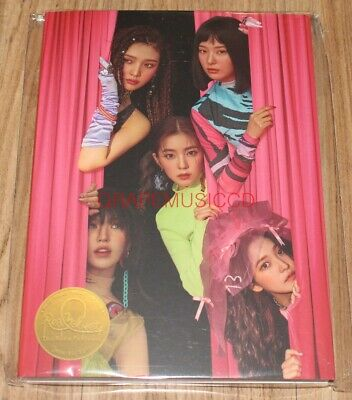 RED VELVET The ReVe Festival Day 1 SMTOWN OFFICIAL GOODS POSTCARD BOOK SEALED