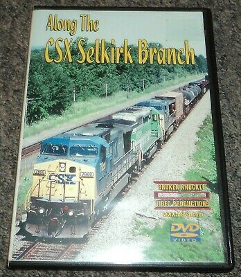 RAILROAD TRAINS DVD CSX & Norfolk Southern Western