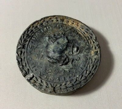 Italy, Venice, 17th century - Lead Theriac box seal. Part of the collection