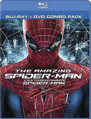 The Amazing Spiderman Spider-man (blu-ray & DVD, 2012)