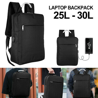 "NEW 15.6"" Anti-theft Laptop Backpack with USB Charger Port Travel Business Bag"
