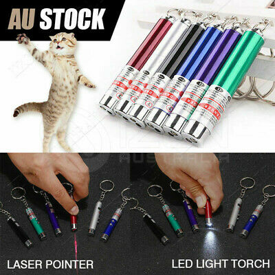 MINI Cat Dog Fun pointer light Laser Lazer Pointer LED Training torch toys pen