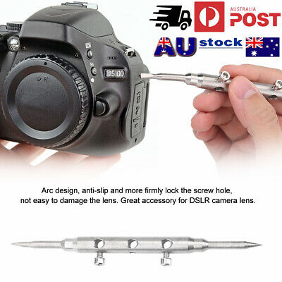 Stainless Steel Professional Spanner Wrench Repair Tools for DSLR Camera Lens AU