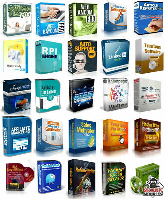 100 Software W/ Master Resell Rights  instant download