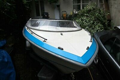 PICTON 170 GTS SPEED BOAT WITH YAMAHA 75 hp OUTBOARD - superb retro project