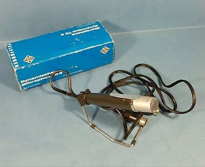 Altes Telefunken Mikrofon TD4 * Vintage Microphone * Made in Germany *