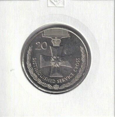 2017 Australian 20 Cent Coin LEGENDS OF THE ANZACS DISTINGUISHED SERVICE CROSS 2