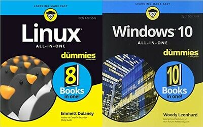 pdf Windows 10 All-in-One+Linux All-in-One For Dummies 6th Edition