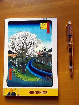 "250 p. ""Hiroshige"" Tomoe River Notebook - Japanese Fountain Pen Friendly Paper"