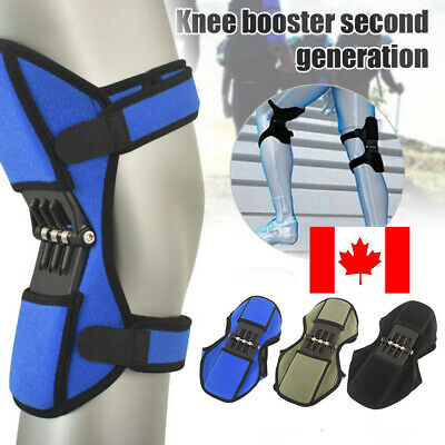 Power Lift Joint Support Knee Brace Pads Rebound Spring Force Running Knee Pad c