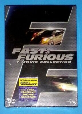 FAST and & FURIOUS cofanetto DVD 7 movie collection