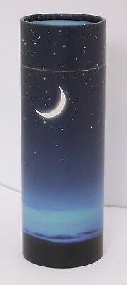 Small Scattering Ashes urn Biodegradable Cremation Scatter Tube Starry Night