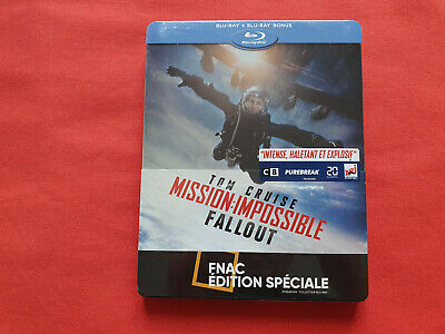 Mission Impossible Fallout Steelbook Edition Spéciale Fnac Blu-ray