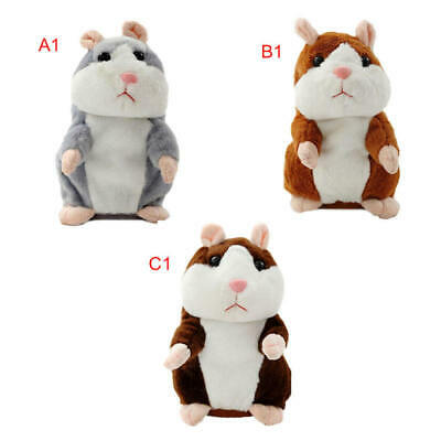 Talking Hamster Mouse Pet Plush Toy Cute Speak Sound Record for Children B YYQ