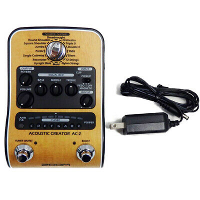 Used Boss AC-2  Acoustic Simulator Effects Pedal Guitar AC2 #1 Free shipping