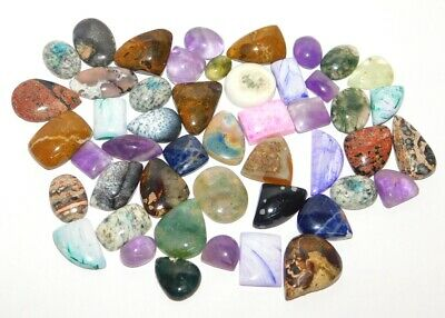 Mix Stone Natural Cabochon Loose Gemstone Lot 482Cts. 37779