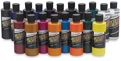 Autoair Kit 17 Colores Candy Aerógrafo + 2 High Performance Reductor de 120 ML
