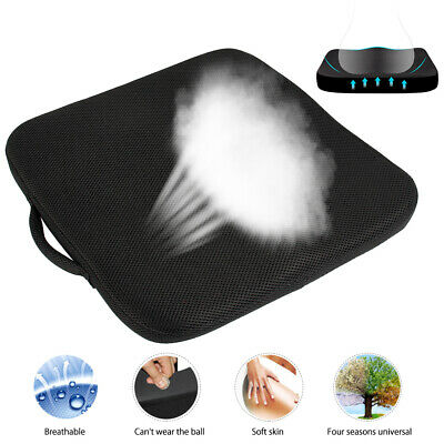 Memory Foam Seat Cushion Office Chair Car Seat Pad Orthopedic Coccyx Relief Mat