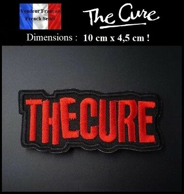 Écusson Brodé Thermocollant NEUF ( Patch Embroidered ) - The Cure