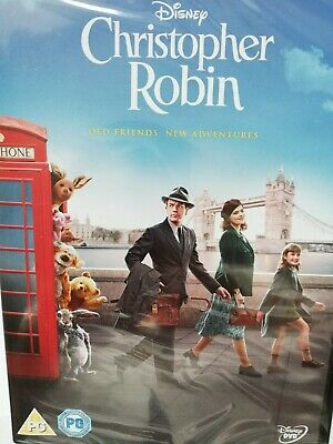 Christopher Robin (DVD, 2018) SEALED Walt Disney
