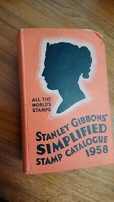 Stanley gibbons simplified stamp catalogue 1958 all the worlds stamps book