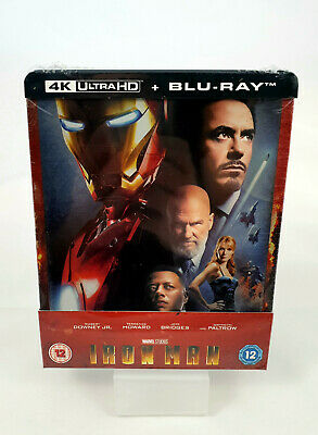 Iron Man - 4K Ultra HD (Blu-ray 2D inclus) Steelbook Exclusif Zavvi
