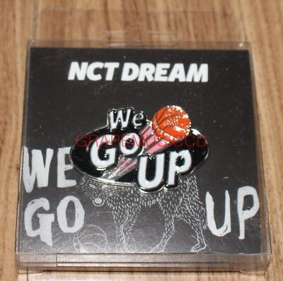 NCT DREAM We Go Up SMTOWN GIFTSHOP OFFICIAL GOODS BADGE A+B NEW