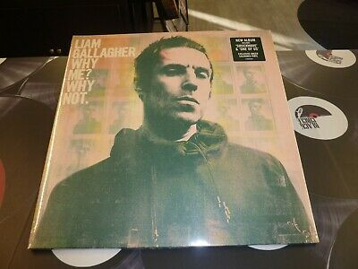 Liam Gallagher (Oasis) - Why Me? Why Not. Ltd Green Vinyl Lp Mint (Pre-Order)