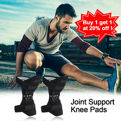Joint Support Brace Knee Pads Booster Lift Squat Sports Power Spring Force HY1