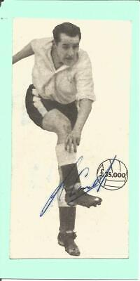Football Autograph Jackie Sewell 1950s Signed Newspaper Photograph F1559