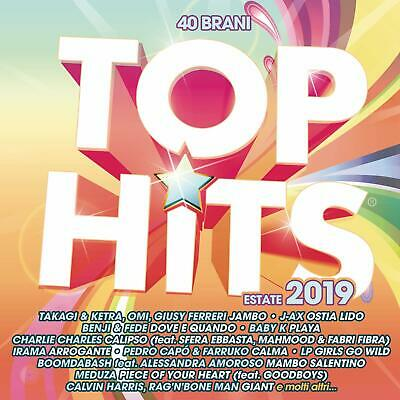 080656 Top Hits - Estate 2019 (2 Cd) (CD) |Nuevo|