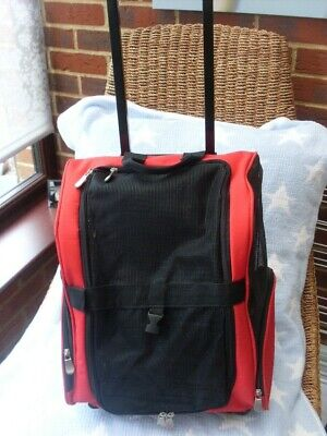 Small Pet Carrier Trolley - Back Pack Dog Cat Carry Strap And Handles