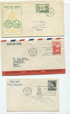 Canada first day covers 1954-81
