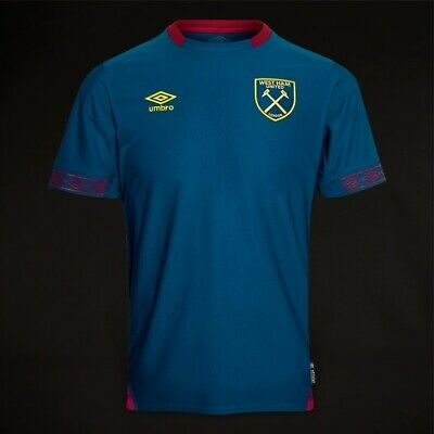 West Ham United Short Sleeve 2018/19  Away Shirt Xl Boys Tags/Packet
