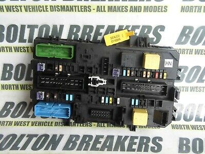 VAUXHALL ZAFIRA A Mk1 Fuse Box Relay Cover Gm 09132702 ... on