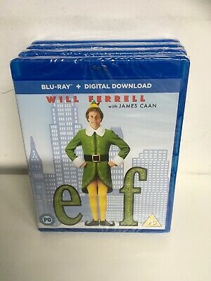 Elf (Blu-ray, 2008) - Brand New & Sealed. Freepost In Uk  Genuine Uk Release.