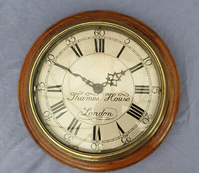 "Rare Large Smith's Clock Circa 1932 ""Thames House London"" Synchronous Type 1"