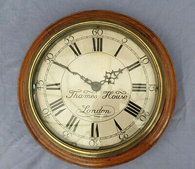 "Rare Smith's Clock Circa 1932 Marked ""Thames House London"" Synchronous Type 1"
