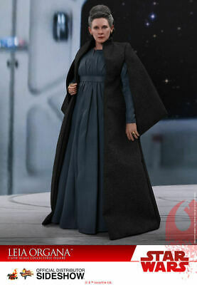 "Hot Toys Star Wars The Last Jedi Leia Organa 12"" 1/6 Action Figure Mms459 New"