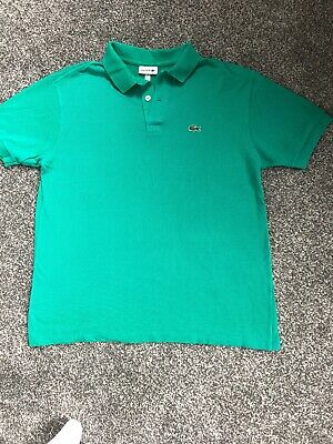 Lacoste Kids Polo Shirt Size: Age 16 100% Genuine