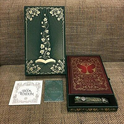 Tomorrowland 2019 Treasure Case incl. Bracelet, Book of Wisdom and Program