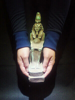 EGYPTIAN ANTIQUES ANTIQUITIES King Rameses II Statue Figure 1549-1113 BC