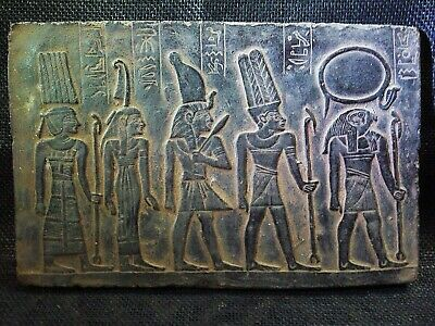 EGYPTIAN ANTIQUES ANTIQUITY Amon Ra Goddess Stela Stele Stelae 1278-1242 BC